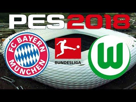 PES 2018 – 2017-18 BUNDESLIGA – BAYERN MUNICH vs WOLFSBURG