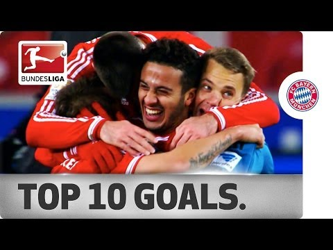 Top 10 Goals – Bayern Munich on the Way to the 2013/14 Championship