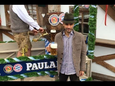 FC Bayern Spieler Oktoberfest 2013 @ Käfer-Schänke mit Pep Guardiola, Ribéry & Co.