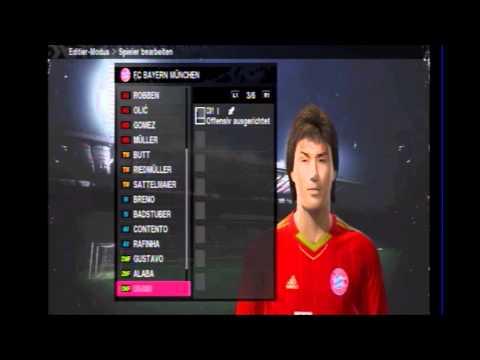 FC Bayern 2011 Kader + Neue Trikots Pes 2010  teil2