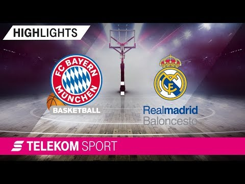 FC Bayern Basketball – Real Madrid Baloncesto | 14. Spieltag, 18/19 | Telekom Sport
