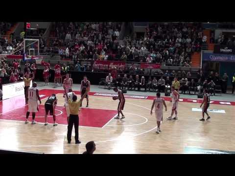 FC Bayern München Basketball gegen den BV Chemnitz 99