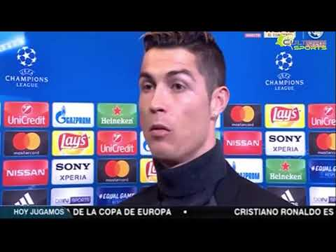 Real Madrid vs PSG 3-1| Cristiano Ronaldo Post Match Interview 2018 HD