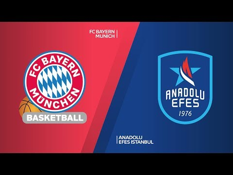 FC Bayern Munich – Anadolu Efes Istanbul Highlights | Turkish Airlines EuroLeague, RS Round 25