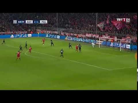 Bayern Münih vs PSG 3-1 Goal Corentin Tolisso Highlights