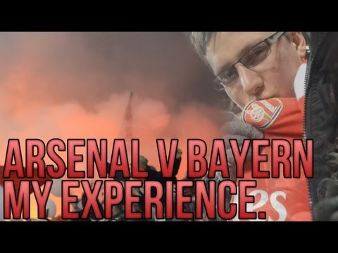 Arsenal 1 – 3 Bayern | My Cinematic Experience