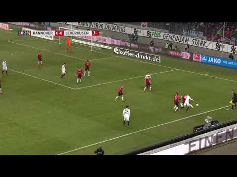 Hannover VS Bayer Leverkusen 4-4 ALL GOALS (Bundesliga 2017/18)