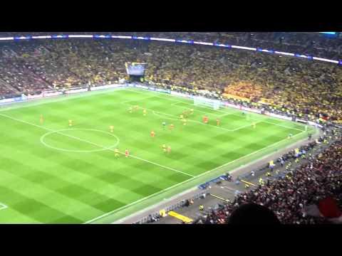Finale Wembley 2013 – Letzte Minuten + Abpfiff [Bayern HD]