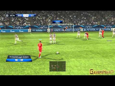 Pro Evolution Soccer 2013: Gameplay #1 – FC Bayern vs. Juventus (Deutsch / German) [HD]