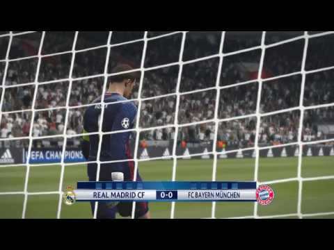 Real Madrid – Bayern München | 18/04/2017 Champions Legue | PENALTY SHOOTOUT HD PES 2017