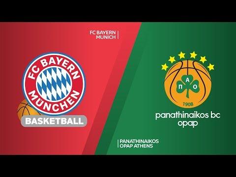 FC Bayern Munich – Panathinaikos OPAP Athens  Highlights | EuroLeague, RS Round 10