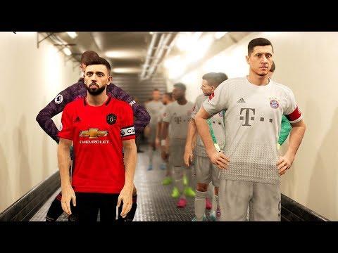 Manchester United vs Bayern Munich ft Bruno Fernandes , Ighalo