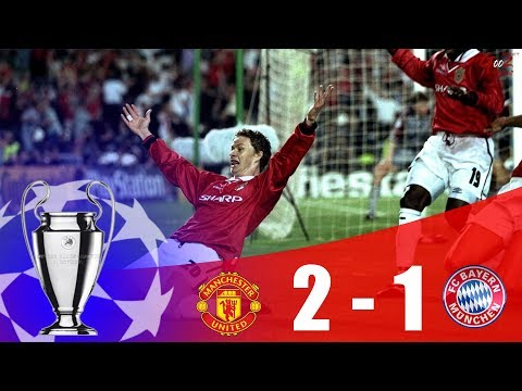 Manchester United vs Bayern Munich – Champions League Final 1998/99 | HD