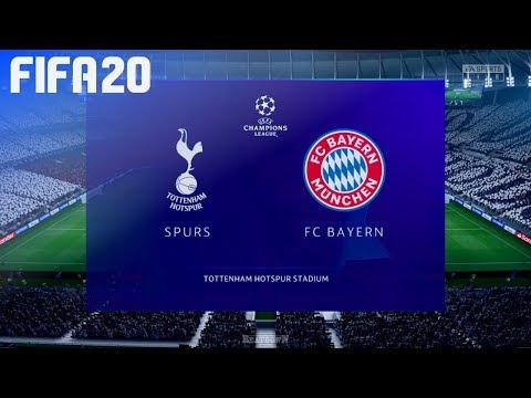 FIFA 20 – Tottenham Hotspur vs. FC Bayern München @ Tottenham Hotspur Stadium