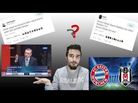 Beşiktaş-Bayern Münih Şampiyonlar Ligi Maçıyla İlgili En Komik Tweetleri Konuştuk