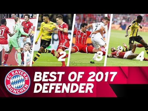 Most spectacular tackles and clearances 2017 🚫 | FC Bayern