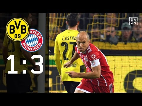 BVB-Albtraum Robben: Borussia Dortmund – FC Bayern München 1:3 | Highlights | Bundesliga | DAZN