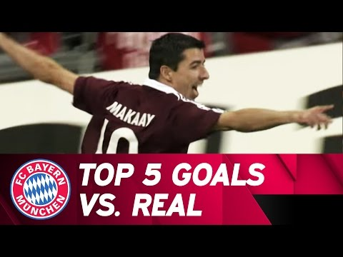 5 Top Goals – FC Bayern vs Real Madrid