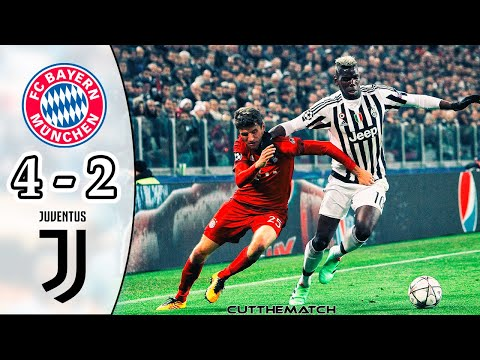 Bayern Munich vs Juventus 4-2 | All Goals & Highlights | UCL 2015/16