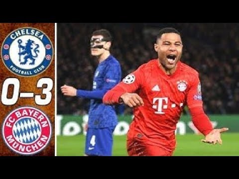 Chelsea va Bayern Munchen 0-3 – Highlights & Goal 2020