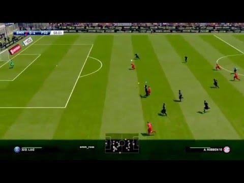 PES 2016 Online – PSG 9 Bayern Munich 1