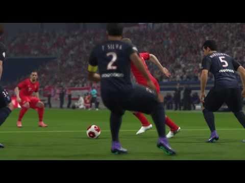 Pes 16 jogando online apelado um pouco com Bayern vs PSG