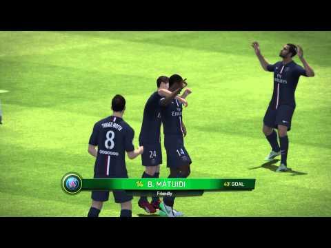 fifa 15 online match PSG Vs Bayern Munich