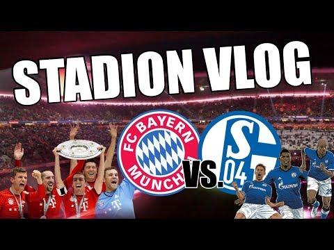 FC BAYERN MÜNCHEN GEGEN FC SCHALKE 04 / EPISCHES SPIEL / LOGE VIP TICKETS / STADIONVLOG 2018 / NBFTV