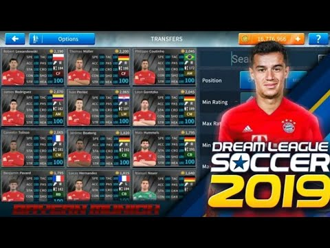 Create Bayern Münich Team Latest Transfers Logo,Kits &Players In Dream League Soccer 2020