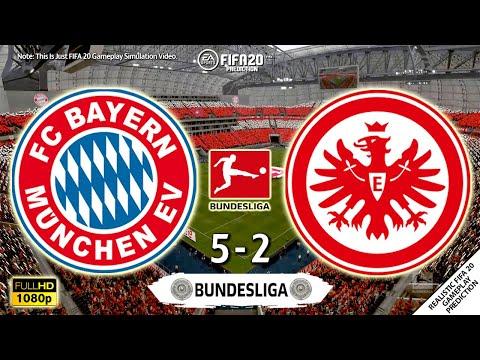 Bayern Munich vs Eintracht Frankfurt 5-2 | Bundesliga 2019/20 | 23/05/2020 | FIFA 20 Simulation