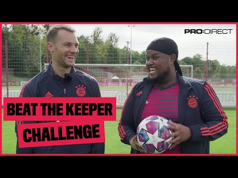 Chunkz vs Neuer | YouTuber vs Pro Keeper Penalty Shoot Out Challenge