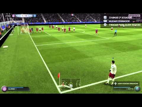FIFA 15 ( PS4 ) FC Bayern   VS  PSG .