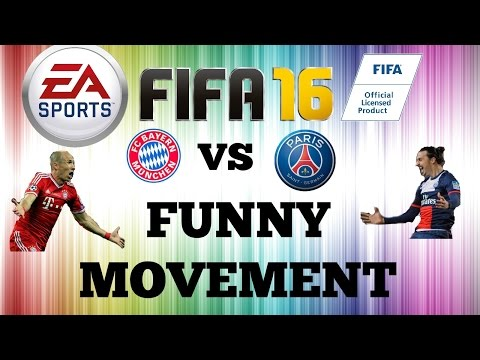 FIFA 16 Online Challenge FC Bayern and PSG i Lose Funy