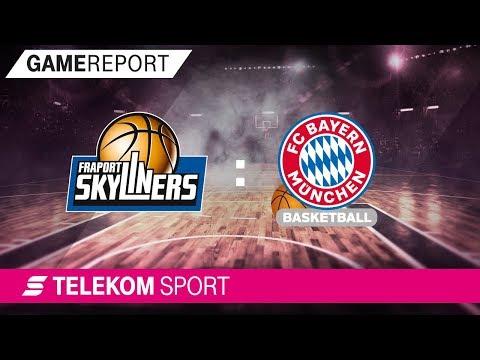 FRAPORT SKYLINERS – FC Bayern Basketball| Viertelfinale, Spiel 2, 17/18 | Telekom Sport