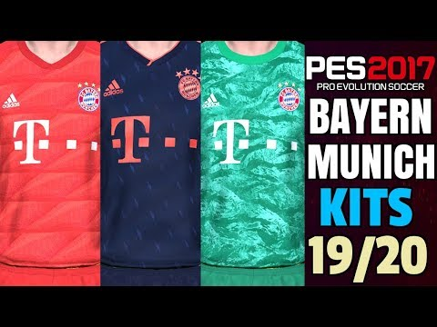 PES 2017 | BAYERN MUNICH KITS 2019/2020 | PREVIEW BY TR