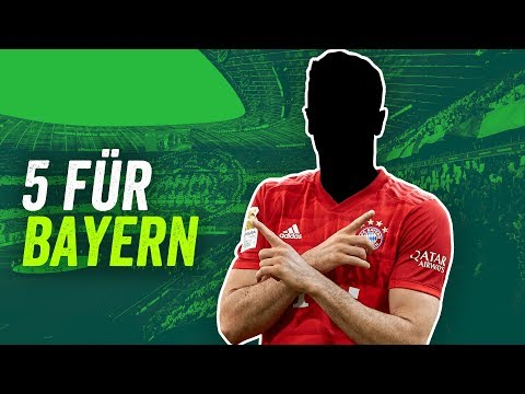 FC Bayern München 2020/21: Fünf Transfers für Hansi Flick!