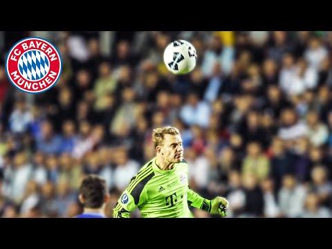 Manuel Neuer Sweeper Keeper Skills