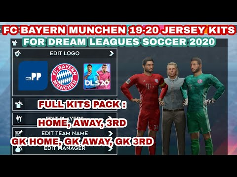 Its Works 100% !!! DLS 20 FC BAYERN MUNCHEN KITS & LOGO!!!