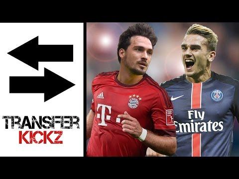 Hummels zu Bayern? Griezmann zu PSG? | TransferKickz