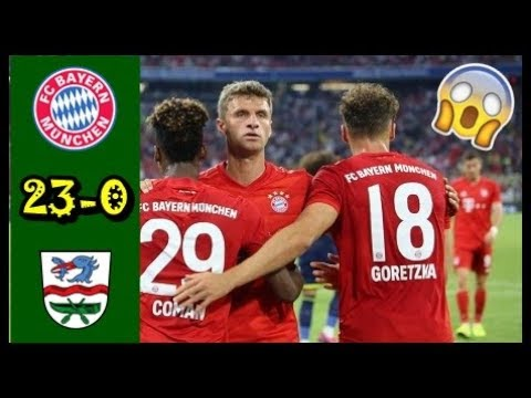 Bayern Munich vs Rottach-Egern 23-0 All Goals & Highlights