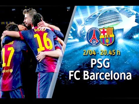 Barcelona V PSG –  Champions League Quater Final (Predictor Highlights) 10/04/13