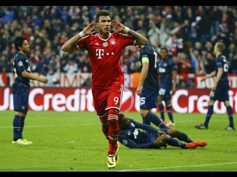 Bayern Munich vs Manchester United 3-1 All Goals & Highlights 09/04/2014 HD