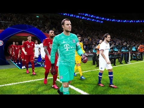 Chelsea vs Bayern Munich – Champions League 25 Feb 2020 Gameplay