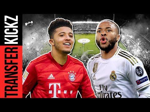 Holt Bayern Sancho statt Sané? Real lockt Sterling für über 200 Mio.€! | TransferKickz