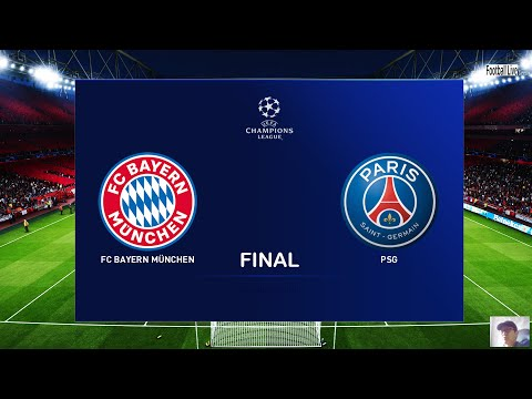 PES 2020 | Bayern Munich vs Paris Saint-Germain (PSG) | Final UEFA Champions League UCL | Gameplay