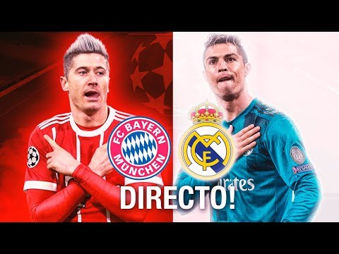 Bayern Munich 1-2 Real Madrid | Partido Completo | Champions League | 25.4.2018