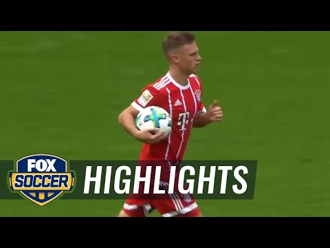 Salomon Kalou equalizes for Hertha Berlin vs. Bayern Munich | 2017-18 Bundesliga Highlights
