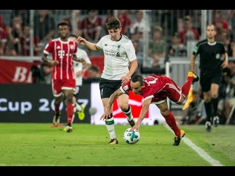 Ben Woodburn Liverpool A vs Bayern Munich Friendly 2017 18