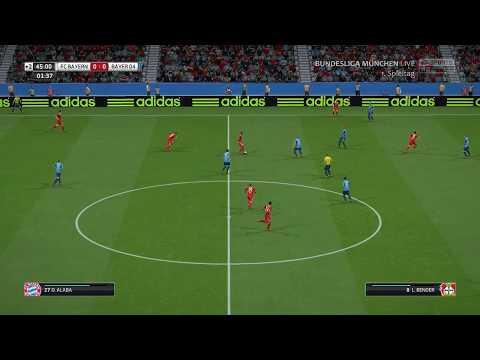 FIFA : Bundesliga 2017/18 : FC Bayern München – Bayer 04 Leverkusen : 1. Halbzeit