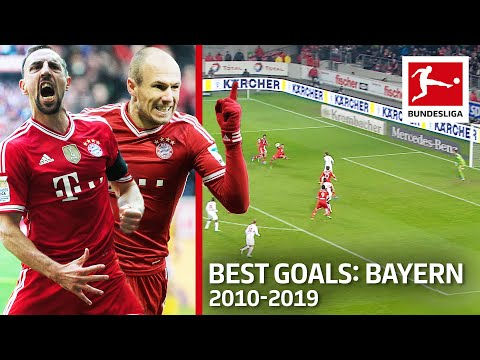 Top 10 FC Bayern München Goals Of The Decade 2010-19 – Lewandowski, Kroos, Ribery & Co.